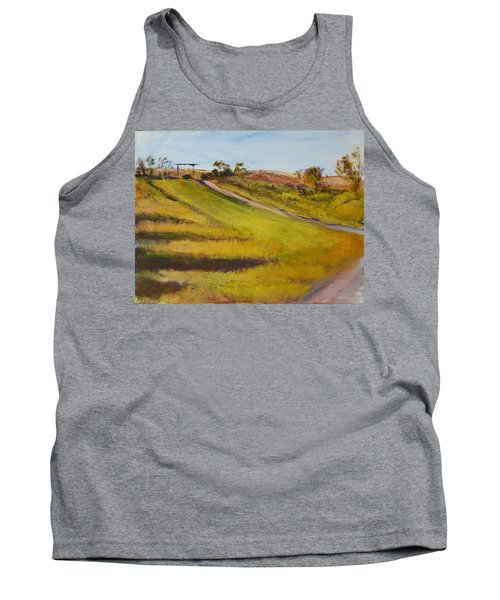 Ranch Entrance Tank Top by Helen Campbell