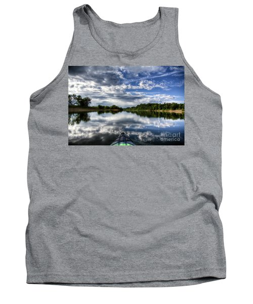 Tank Top featuring the photograph Rankin Bottoms Hdr by Douglas Stucky