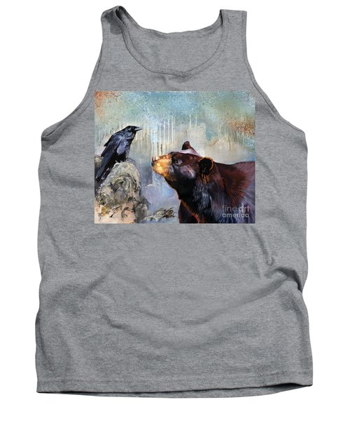 Raven And The Bear Tank Top