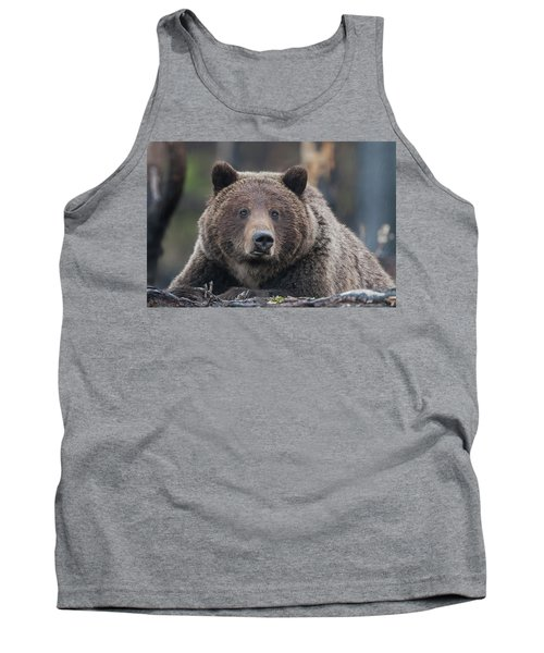 Raw, Rugged And Wild- Grizzly Tank Top