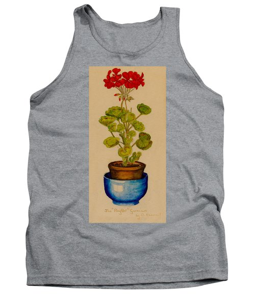 Ray-bet Geranium Tank Top