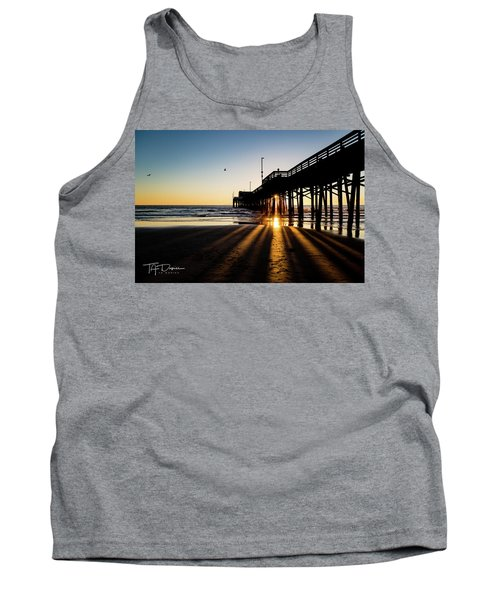 Rays Of Evening Tank Top