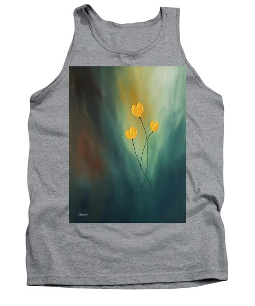 Tank Top featuring the painting Rays Of Hope by Carmen Guedez
