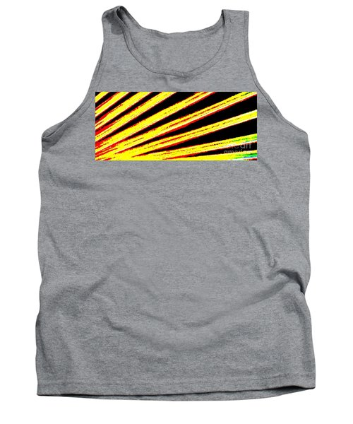Rays Of Light Tank Top by Tim Townsend
