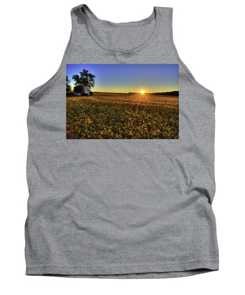 Rays Over The Field Tank Top