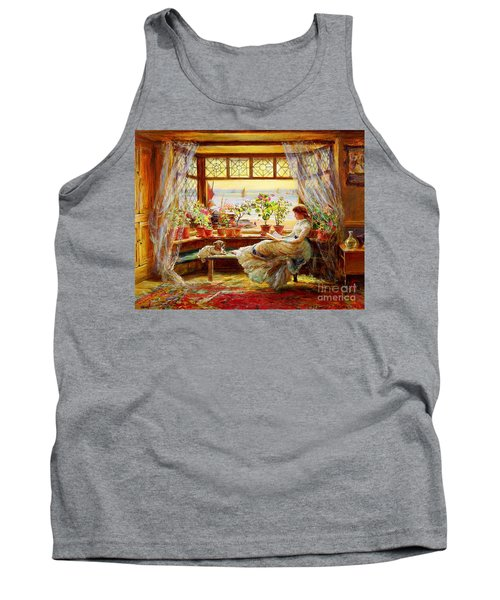 Reading By The Window Tank Top
