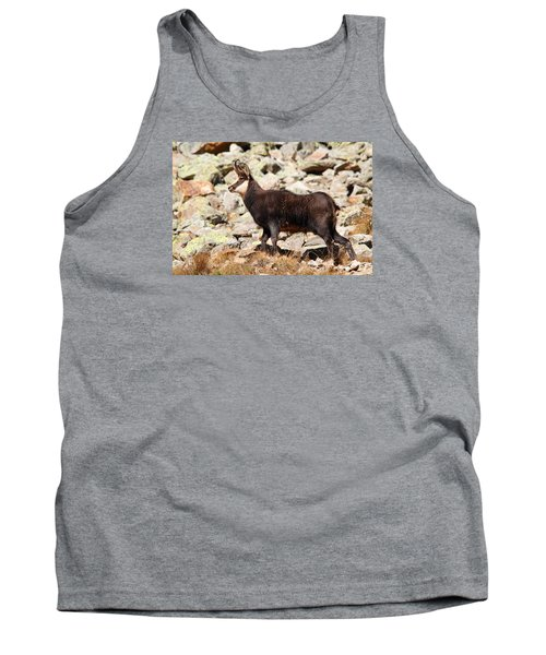 Tank Top featuring the photograph Ready For The Challenge by Richard Patmore
