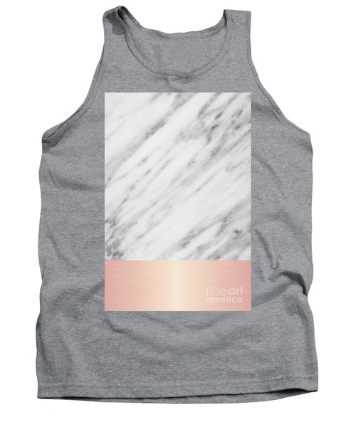 Real Italian Marble And Pink Tank Top