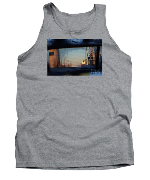 Rear View 2 - The Places I Have Been Tank Top by David Blank