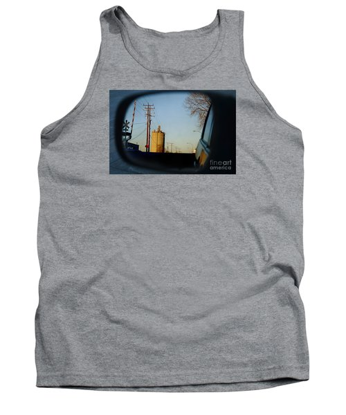Rear View - The Places I Have Been Tank Top by David Blank