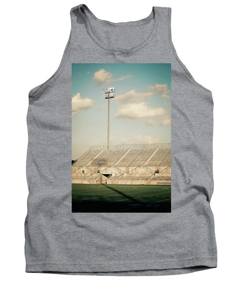 Tank Top featuring the photograph Recalling High School Memories by Trish Mistric