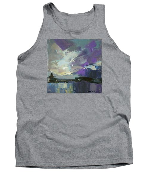 Tank Top featuring the painting Recollection by Anastasija Kraineva