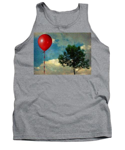 Red Balloon Tank Top