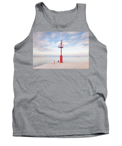 Red Beacon Tank Top