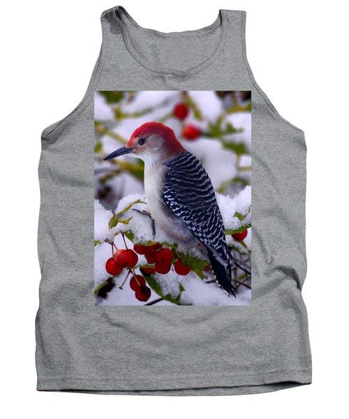 Red Bellied Woodpecker Tank Top