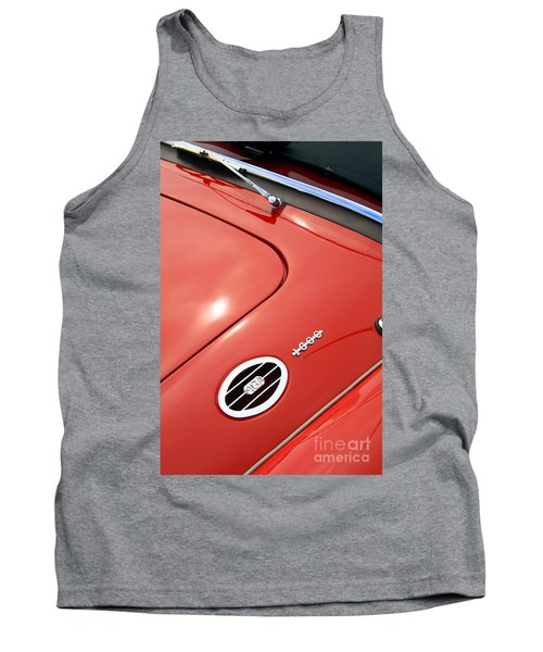 Tank Top featuring the photograph Red Bonnett by Stephen Mitchell