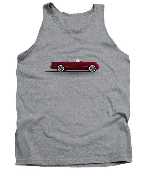 Red C1 Convertible Tank Top by Douglas Pittman