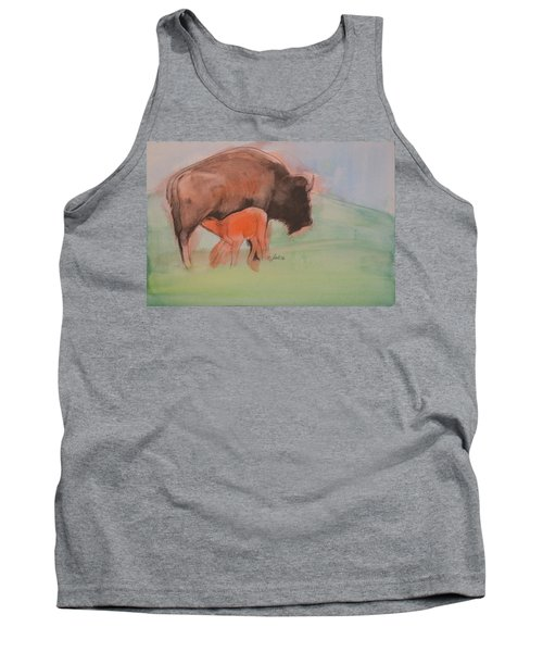 Red Dog Tank Top