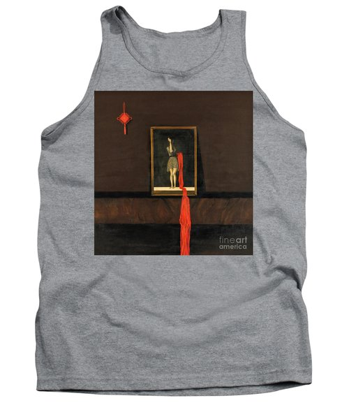 Red Echo Tank Top
