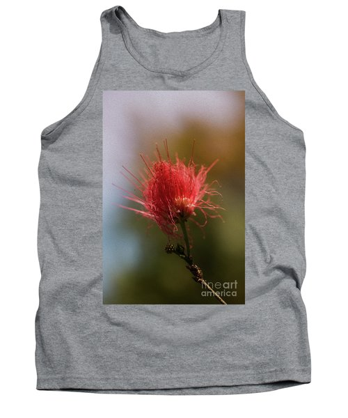 Red Flower Tank Top