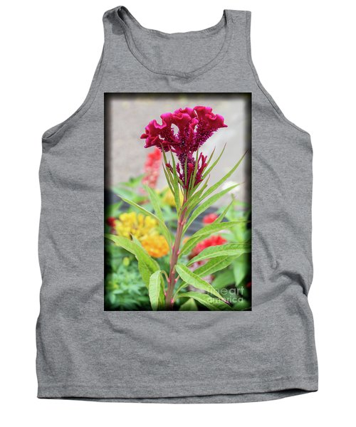 Red Fusion Tank Top
