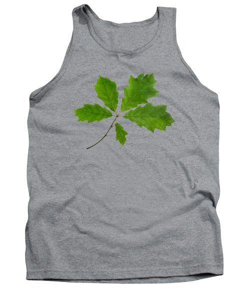 Red Oak Leaves Tank Top