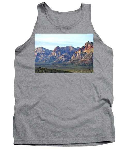 Tank Top featuring the photograph Red Rock Canyon - Scale by Glenn McCarthy Art and Photography