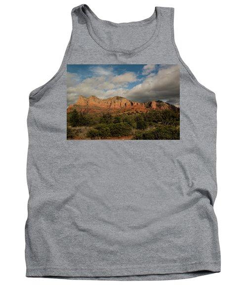 Red Rock Country Sedona Arizona 3 Tank Top by David Haskett