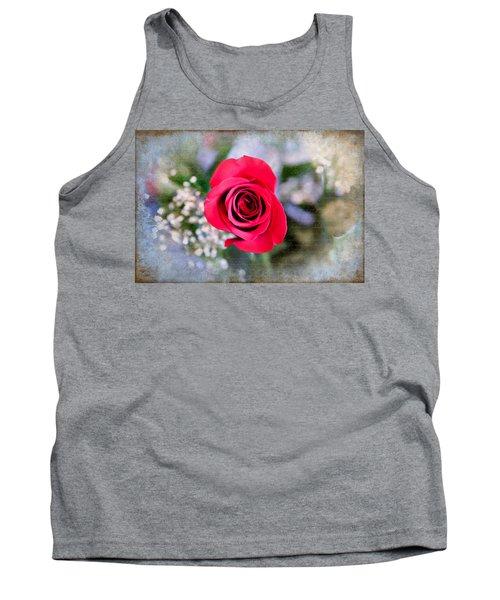 Red Rose Elegance Tank Top