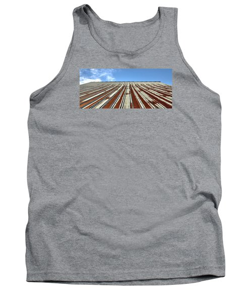 Red Tin Roof Tank Top