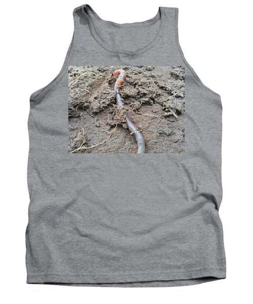 Tank Top featuring the photograph Red Wiggler by Robert Knight