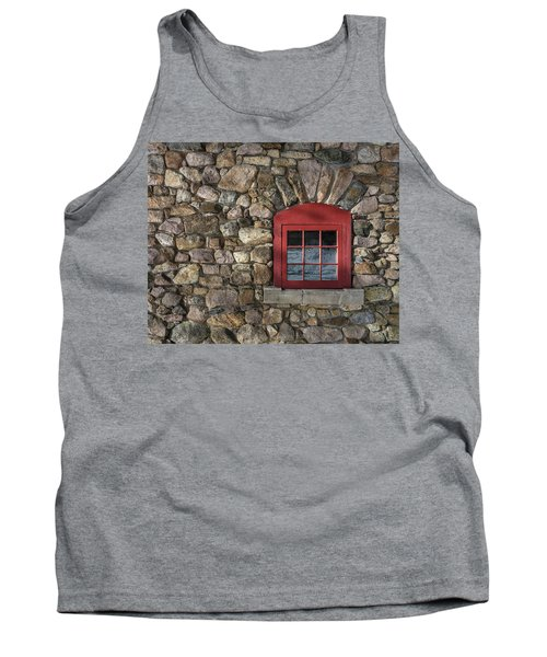 Red Window Tank Top