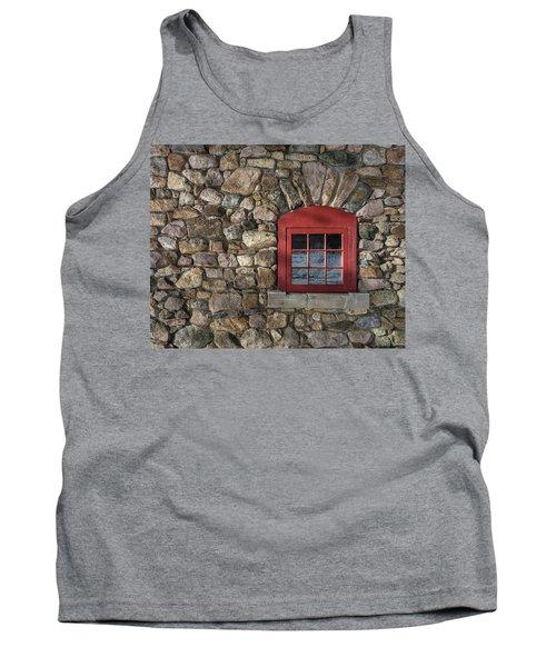 Red Window Tank Top