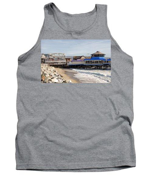 Redondo Beach Pier Shopping Tank Top