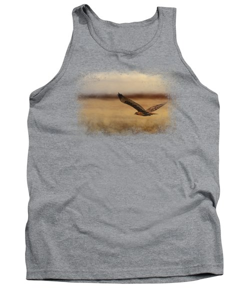 Redtail In The Field Tank Top
