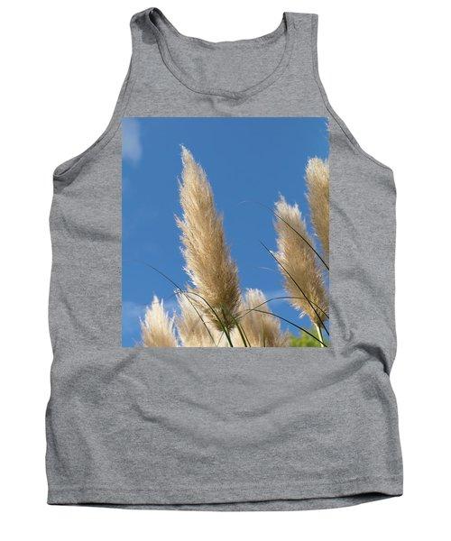 Reeds Against Sky Tank Top