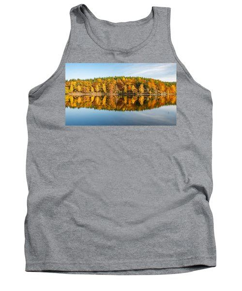 Reflection Of Autumn Tank Top