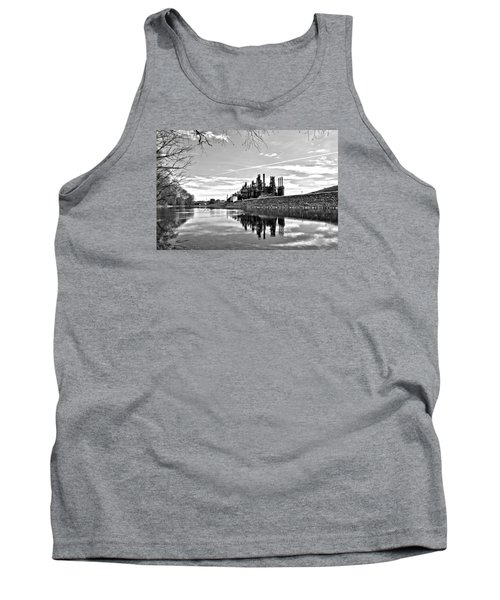 Reflection On The Lehigh Tank Top by DJ Florek