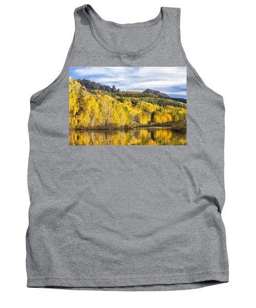 Reflection With Ophir Needles II Tank Top