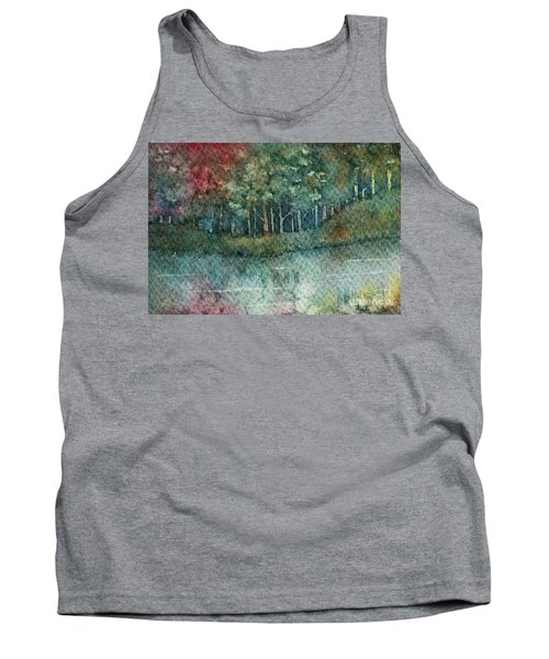 Reflections Along The Water Tank Top