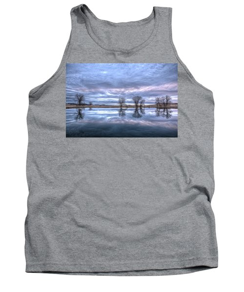 Reflections Tank Top by Fiskr Larsen