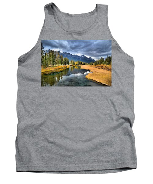 Reflections In Canmore Tank Top