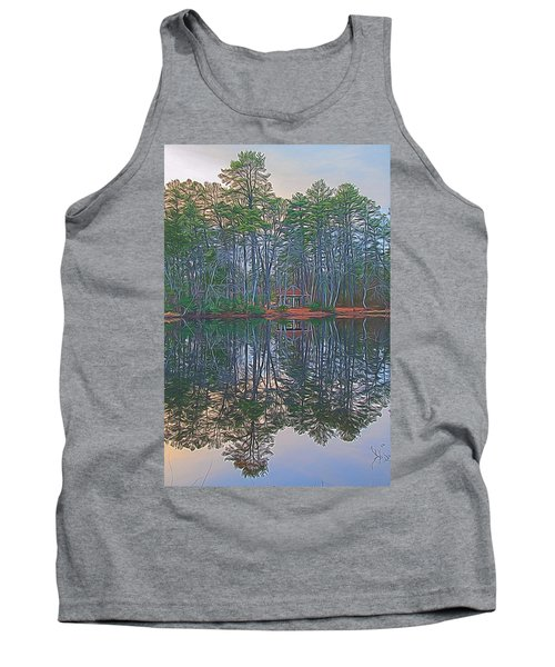 Reflections In The Pines Tank Top