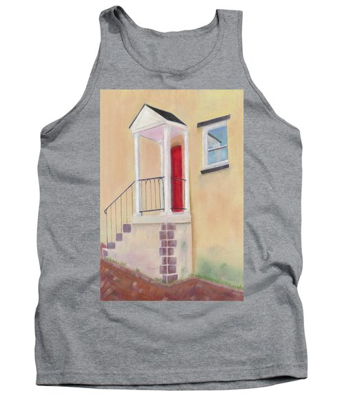 Tank Top featuring the painting Reflections Of Baltimore by Arlene Crafton