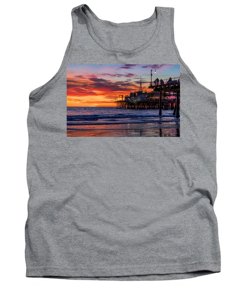 Reflections Of The Pier Tank Top