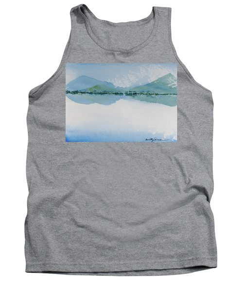 Reflections Of The Skies And Mountains Surrounding Bathurst Harbour Tank Top