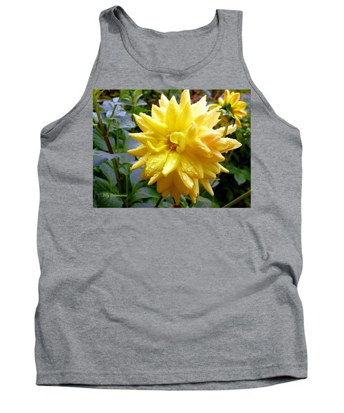 Refreshed Dahlia  Tank Top