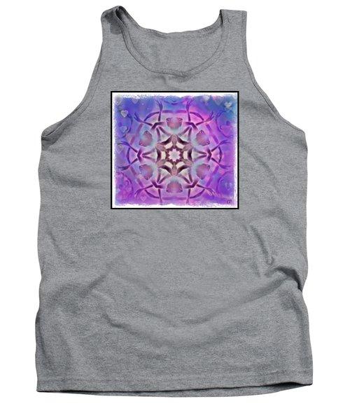 Reiki Infused Healing Hands Mandala Tank Top