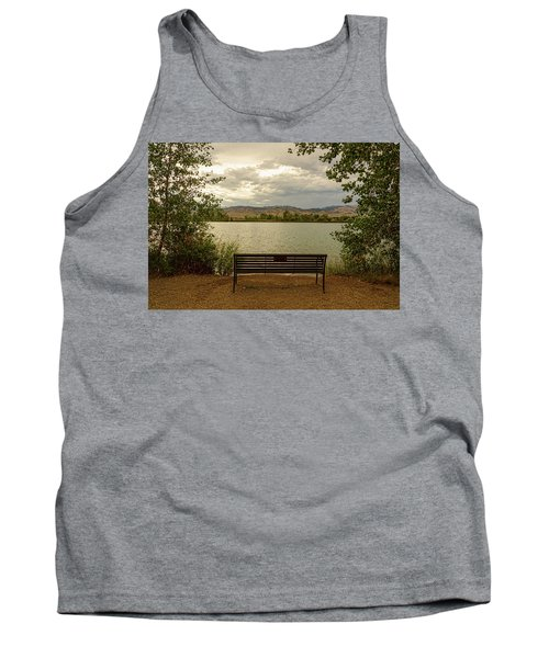 Tank Top featuring the photograph Relaxing View by James BO Insogna