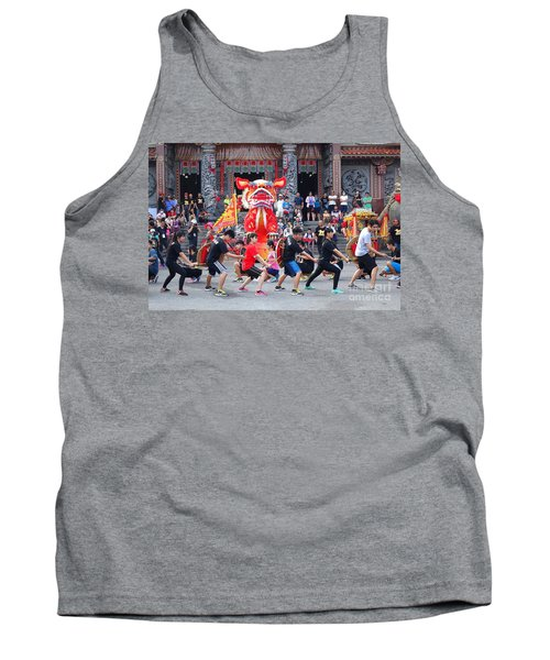Religious Martial Arts Performance In Taiwan Tank Top